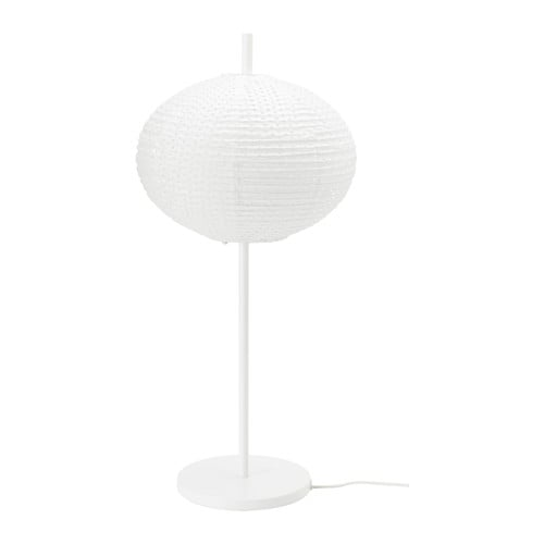 SOLLEFTEÅ Table lamp IKEA You can create a soft, cozy atmosphere in your home with a paper lamp that spreads diffused and decorative light.