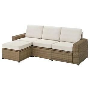 Color: With footstool brown/frösön/duvholmen beige.