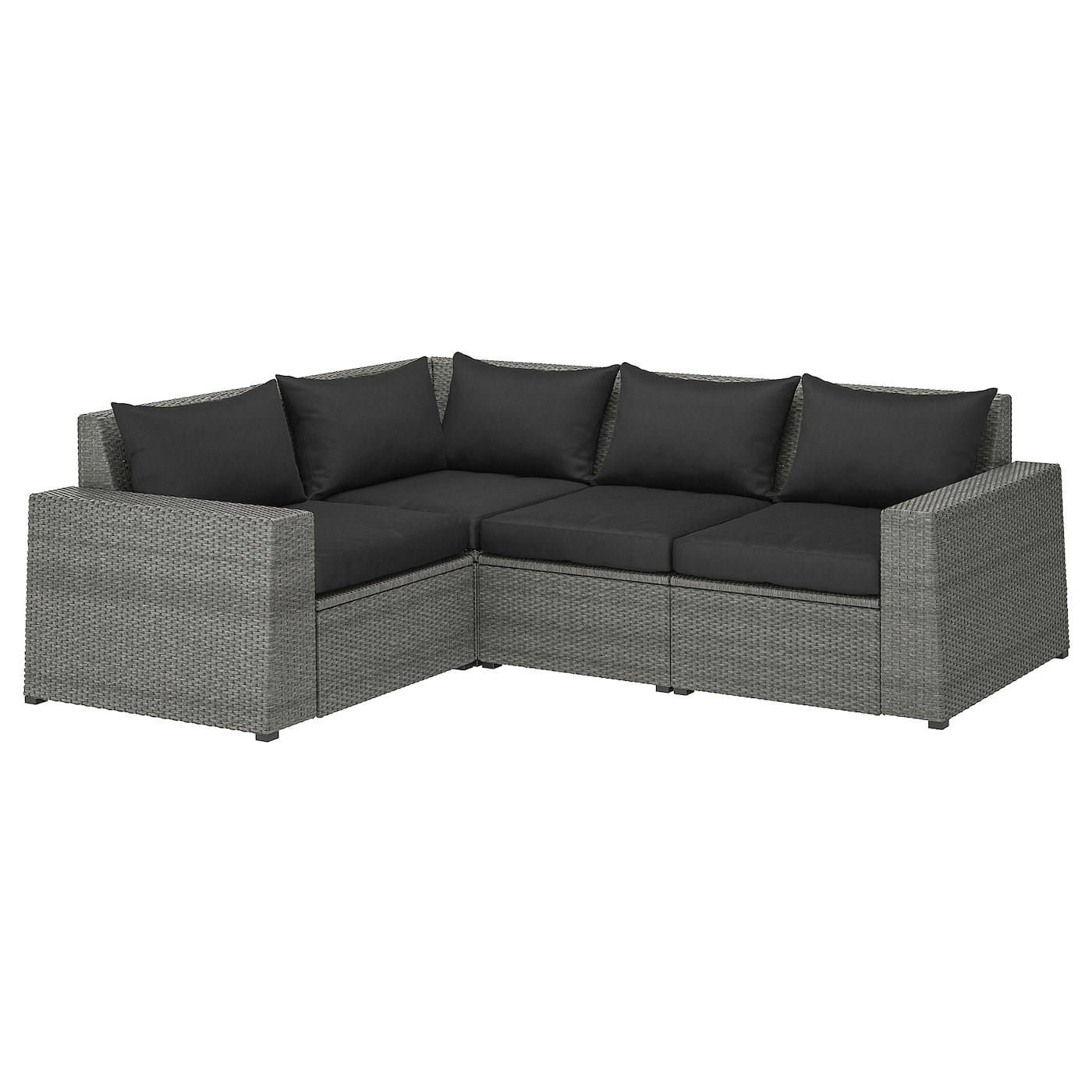 Better Homes And Gardens Replacement Cushions Azalea Ridge, Solleron Modular Corner Sofa 3 Seat Outdoor Dark Gray Hallo Black Ikea