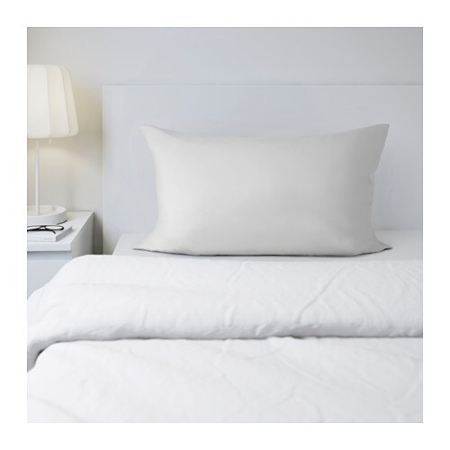 SÖMNIG Pillowcase   The lyocell/cotton blend absorbs and draws moisture away from your body and keeps you dry all night long.