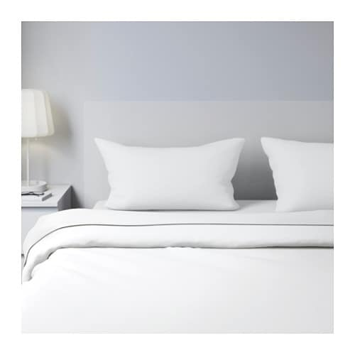 SÖMNIG Sheet set   The lyocell/cotton blend absorbs and draws moisture away from your body and keeps you dry all night long.