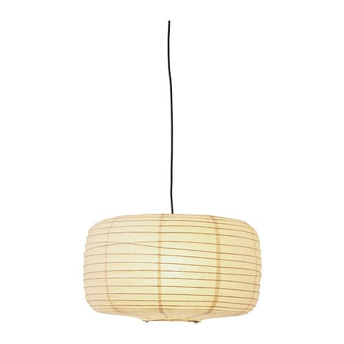 SÖRE Pendant lamp shade   Gives a soft mood light.