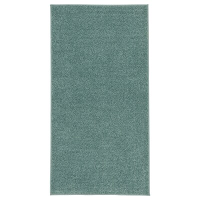 """SPORUP Rug, low pile, gray-turquoise, 2 ' 7 """"x4 ' 11 """""""
