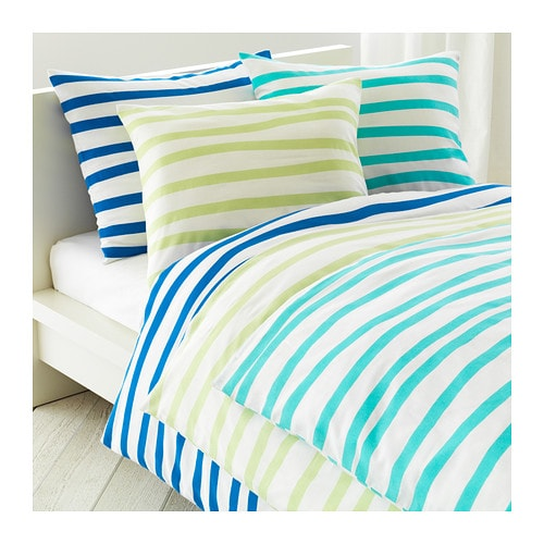 SPRINGKORN Duvet cover and pillowcase(s)