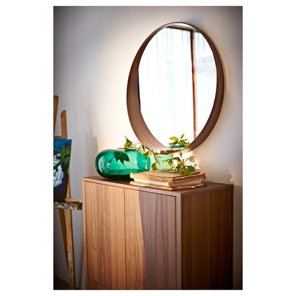 "STOCKHOLM mirror walnut veneer 3 7/8 "" 31 1/2 """