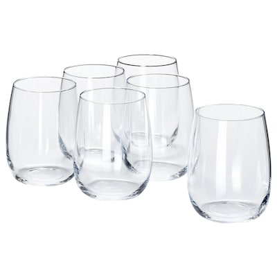 STORSINT Glass, clear glass, 13 oz