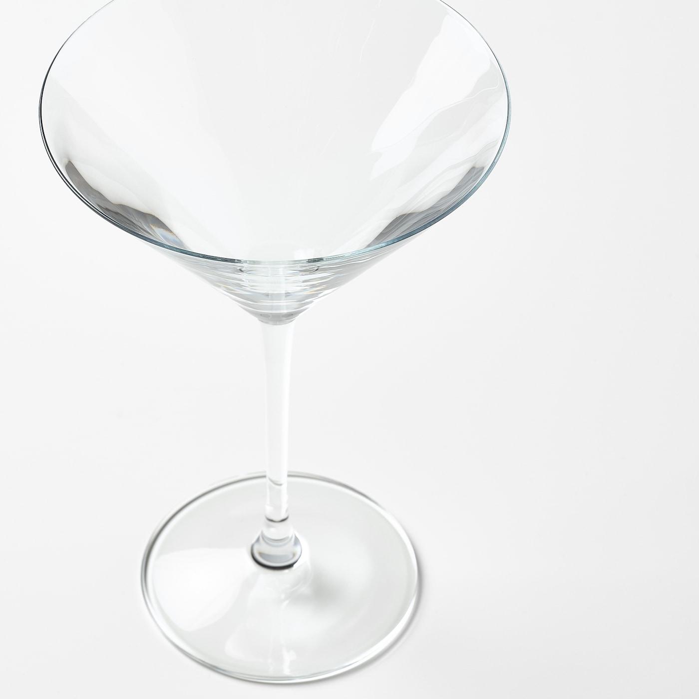 STORSINT Martini glass, clear glass, 8 oz