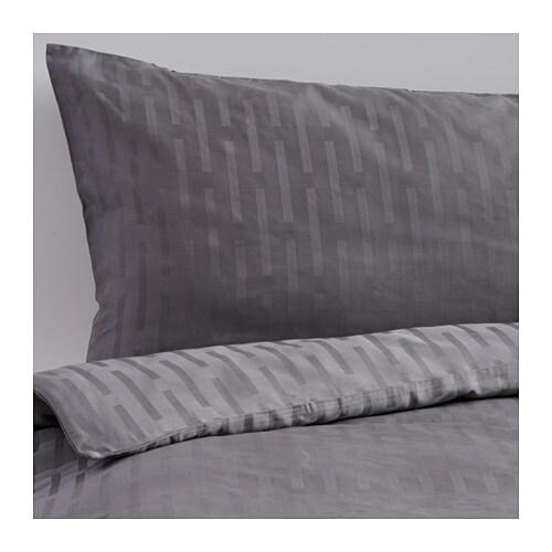 Strandgyllen duvet cover and pillowcase s king ikea for Couette king ikea