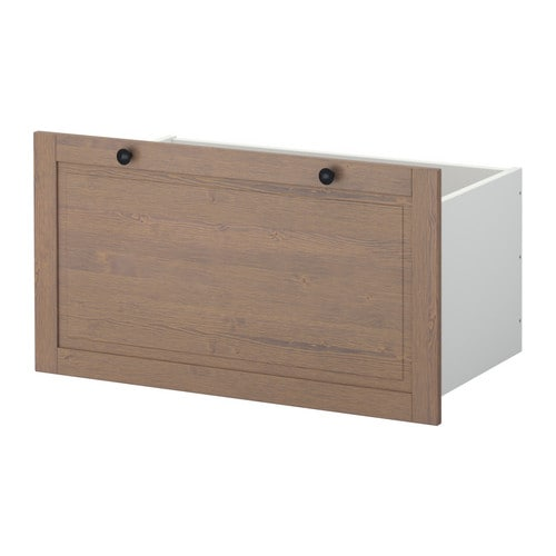 STUVA BETSAD Box   Doors, drawers, and boxes are both protective and decorative.   Choose the one you like the best.