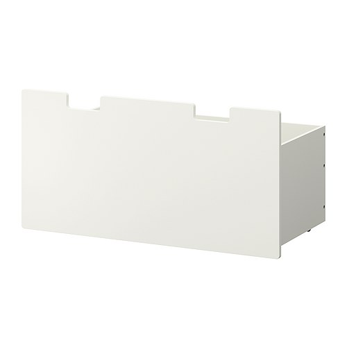 STUVA MÅLAD Box   Choose doors, drawers and boxes to protect your things and make the storage more decorative.
