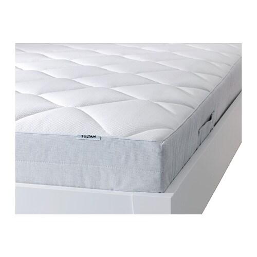 sultan hallen response coil mattress queen ikea