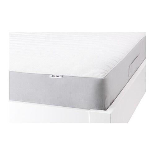 Sultan hurva spring mattress queen ikea for Rollaway bed ikea