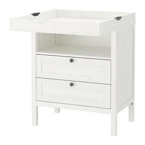 sundvik changing table chest ikea. Black Bedroom Furniture Sets. Home Design Ideas