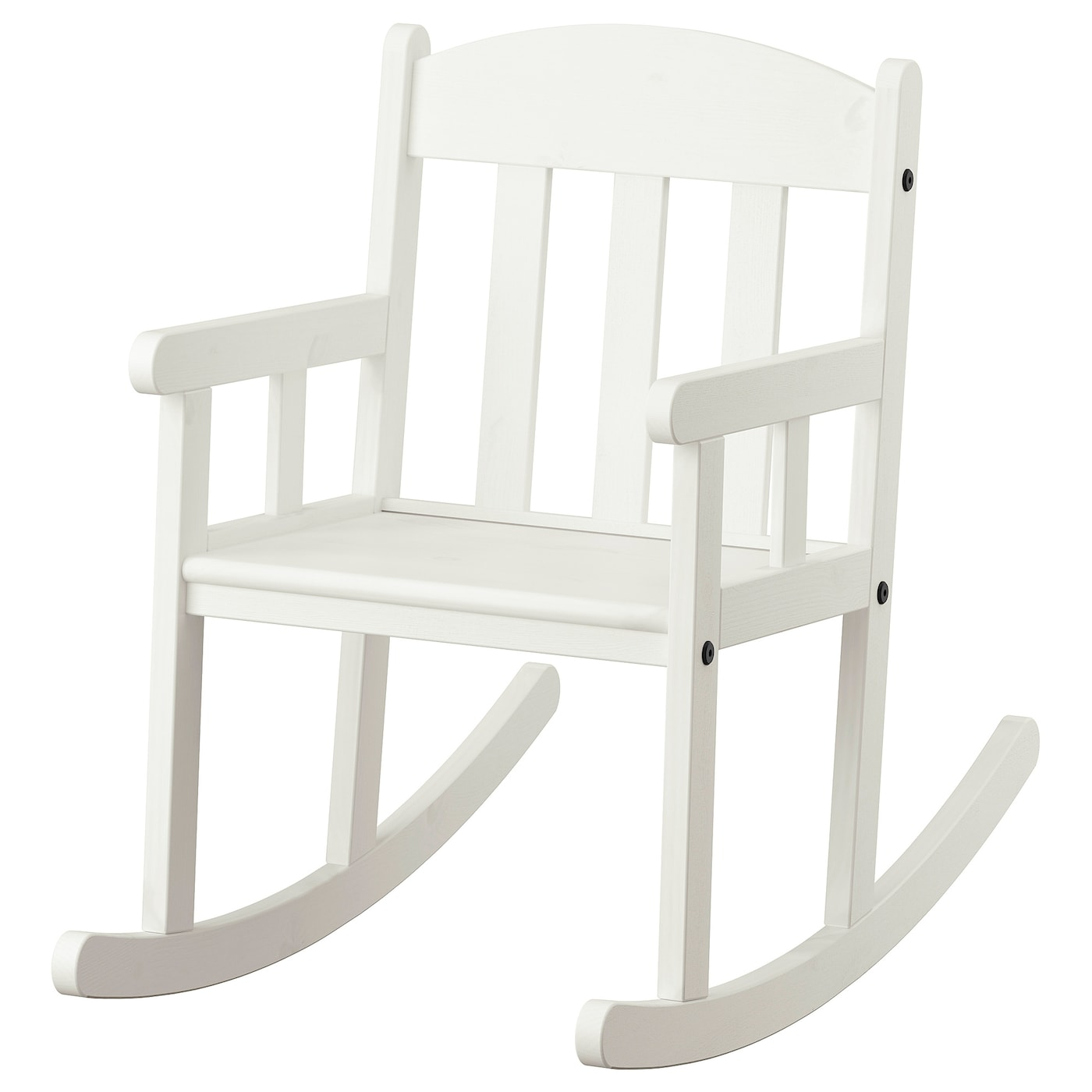 SUNDVIK Childrens rocking-chair - white
