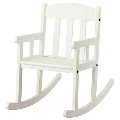 "SUNDVIK childrens rocking-chair white 14 5/8 "" 27 1/8 "" 22 1/2 "" 13 "" 11 "" 11 3/8 """