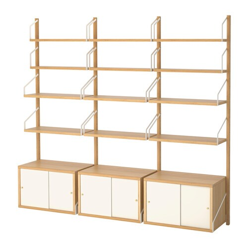 svaln s wall mounted storage combination ikea. Black Bedroom Furniture Sets. Home Design Ideas