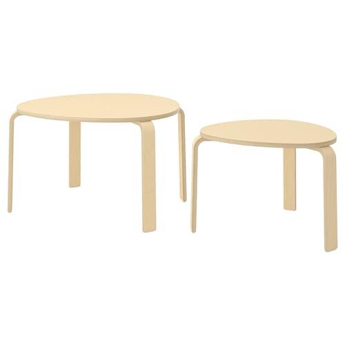IKEA SVALSTA Nesting tables, set of 2