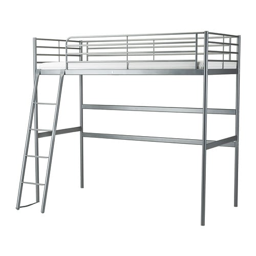 sv rta loft bed frame ikea. Black Bedroom Furniture Sets. Home Design Ideas