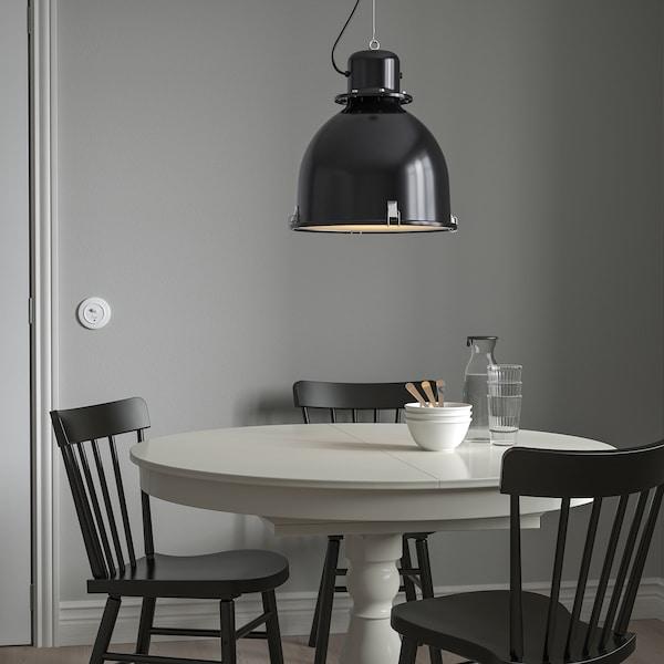 "SVARTNORA Pendant lamp, black, 15 """