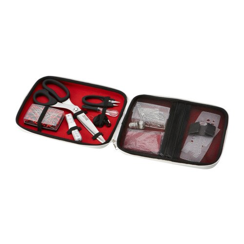 SY 15-piece sewing kit set   Contains basic sewing accessories.   Easy to get started.