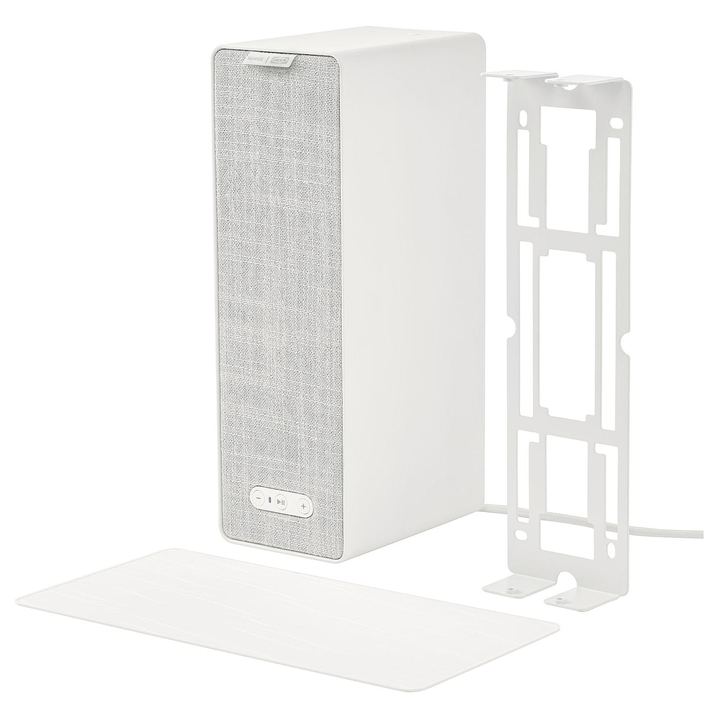 Ikea SYMFONISK WiFi speaker with bracket, white12x4x6