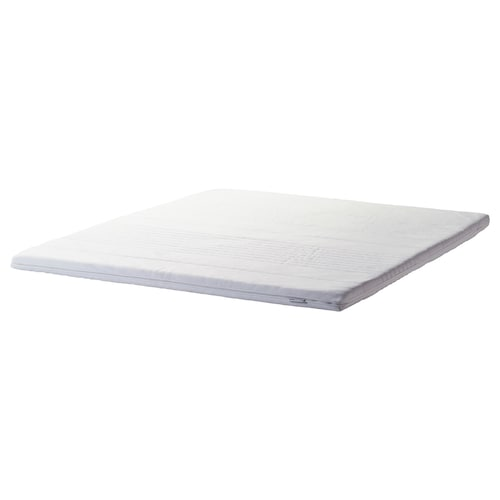 "TANANGER mattress topper white 74 3/8 "" 53 1/8 "" 2 3/8 """