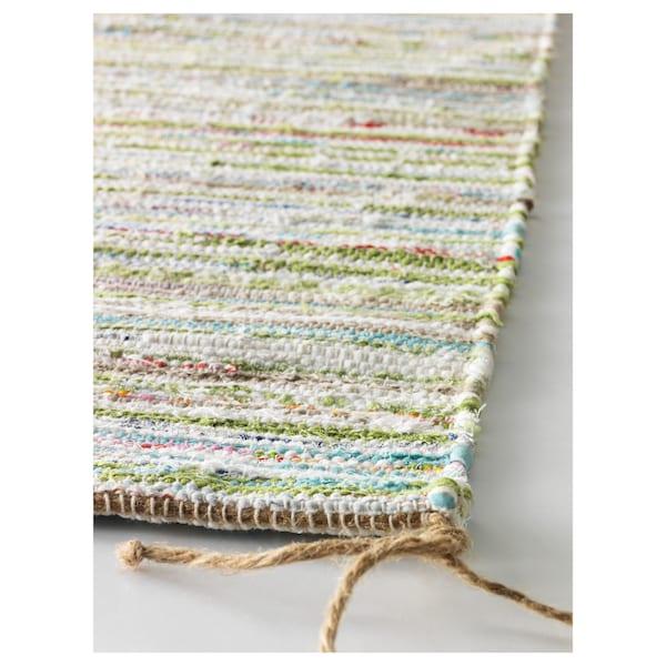 "TÅNUM rug, flatwoven assorted colors 2 ' 11 "" 2 ' 0 "" ¼ "" 5.81 sq feet 4.42 oz/sq ft"