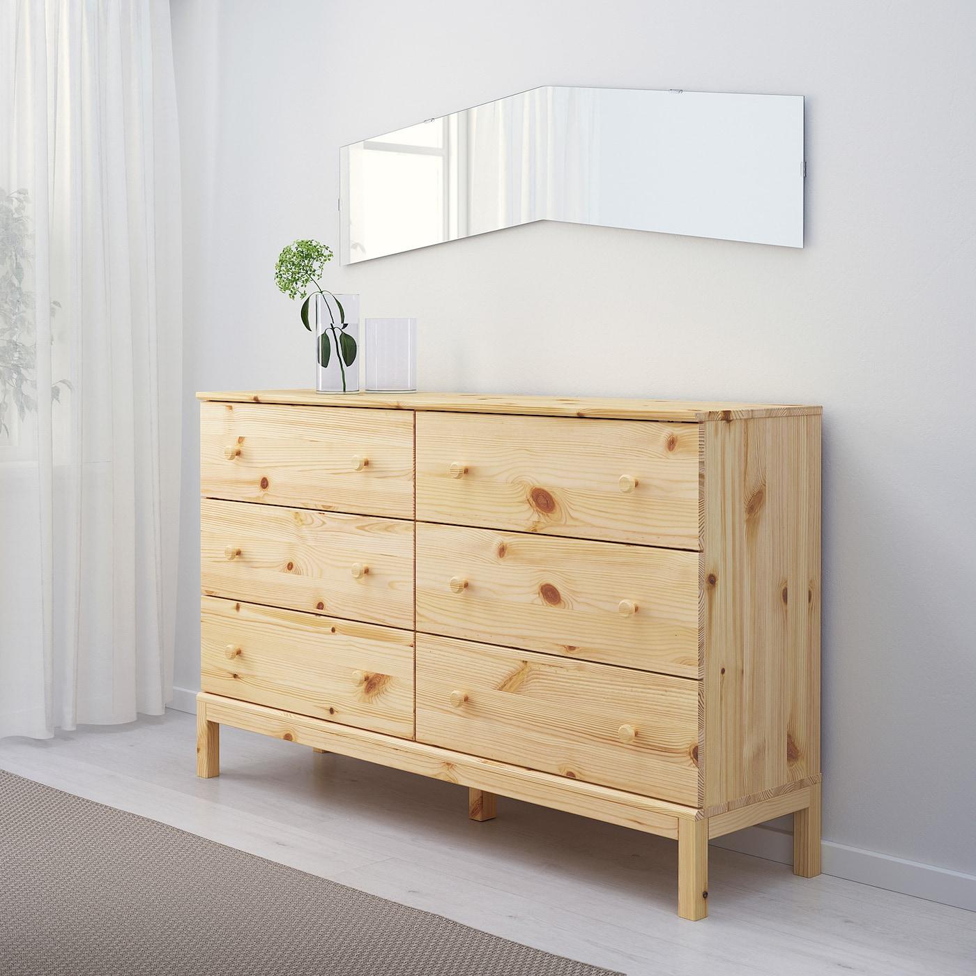 Tarva 6 Drawer Chest Pine Ikea