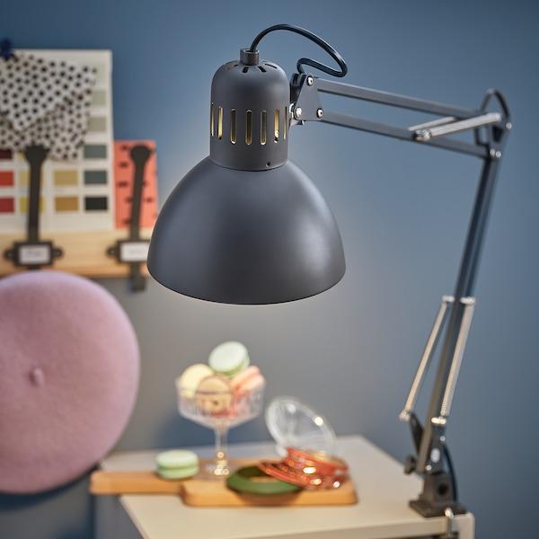 TERTIAL Work lamp, dark gray