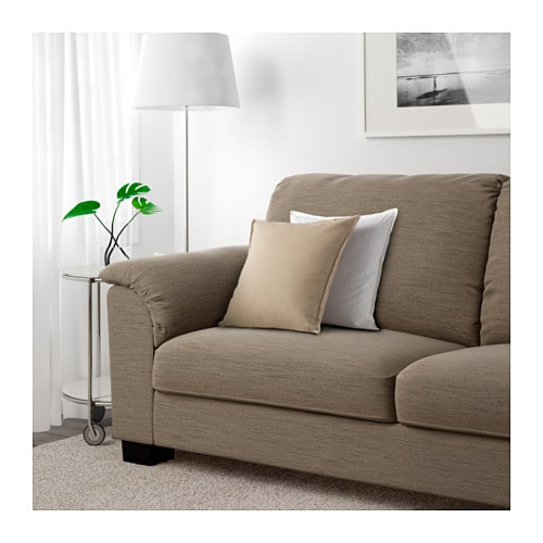 TIDAFORS Corner sofa with arm left   The high back provides good support for your neck and head.
