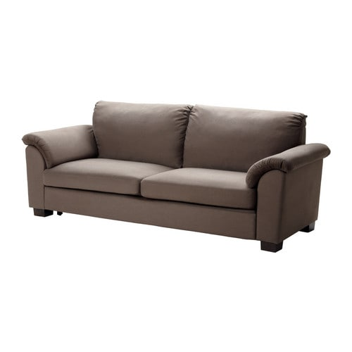 TIDAFORS Sofa bed   Easy to fold out to a comfortable bed for two, with the sleeping direction parallel to the sofa.