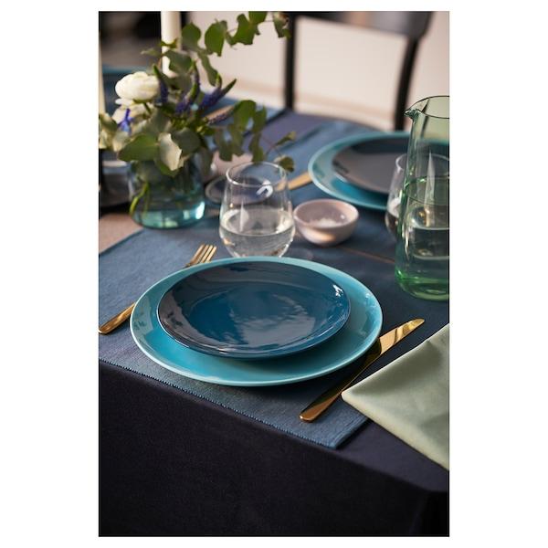 TILLAGD 20-piece cutlery set, brass color