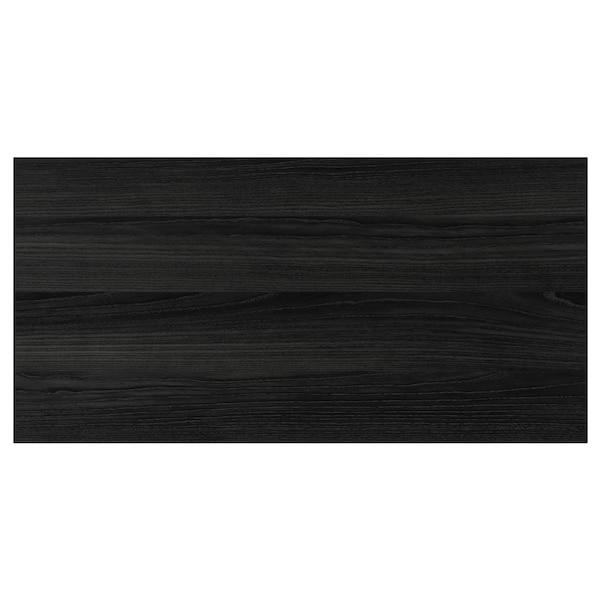"TINGSRYD Drawer front, wood effect black, 30x15 """