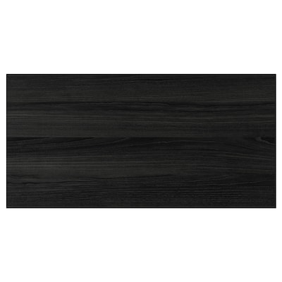 "TINGSRYD drawer front wood effect black 29 7/8 "" 15 "" 30 "" 14 7/8 "" 5/8 """