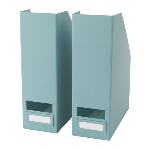 Tjena magazine file light blue ikea for Porte revue ikea