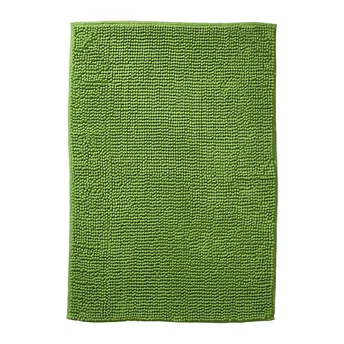 TOFTBO Bathroom mat   Made of microfiber; ultra soft, absorbent and dries quickly.