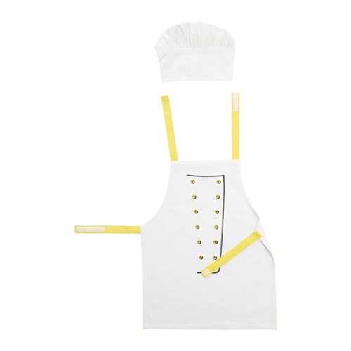 Toppklocka children s apron with chef s hat ikea for What time does ikea close