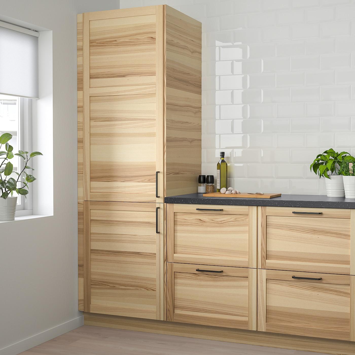 Torhamn Door Natural Ash 12x40 31x102 Cm Ikea
