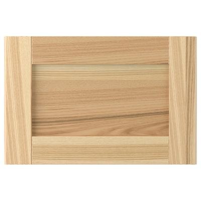 "TORHAMN drawer front natural ash 14 7/8 "" 10 "" 15 "" 9 7/8 "" 3/4 """