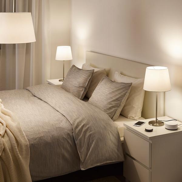 TRÅDFRI LED bulb E12 600 lumen, wireless dimmable white spectrum/globe opal white