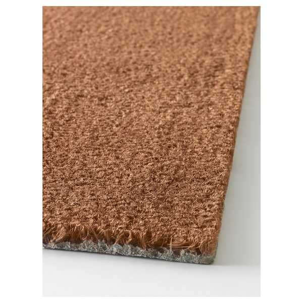 "TRAMPA Door mat, natural, 2 ' 0 ""x2 ' 11 """