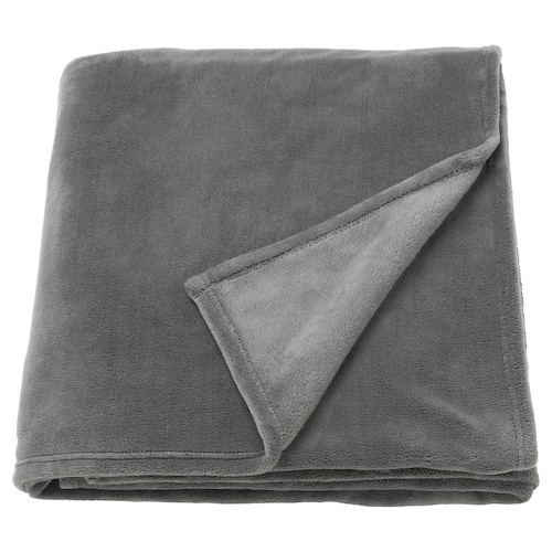 "TRATTVIVA bedspread gray 98 "" 91 """