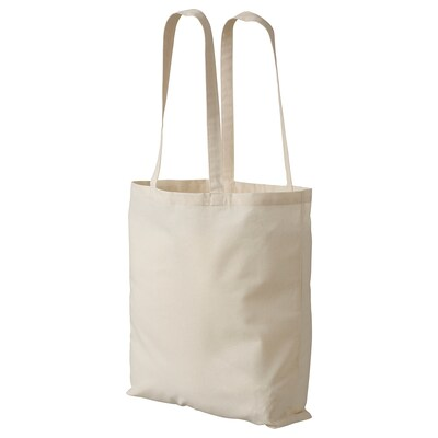 "TREBLAD shopping bag unbleached 15 ¾ "" 15 ¾ """