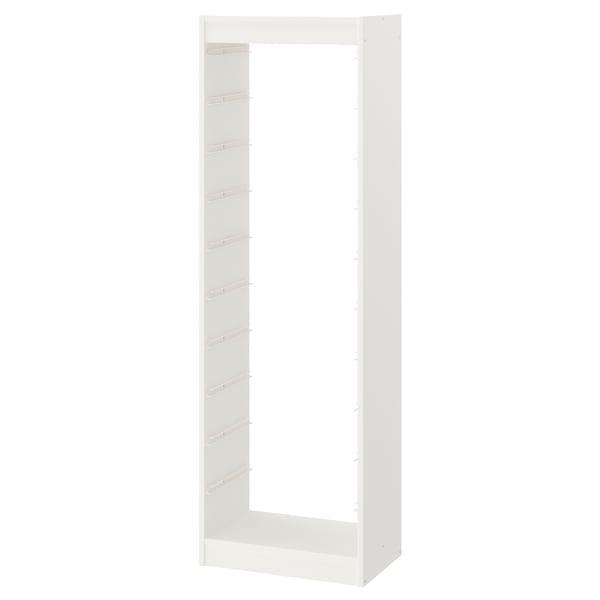 """TROFAST Frame, white, 18 1/8x11 3/4x57 1/8 """""""