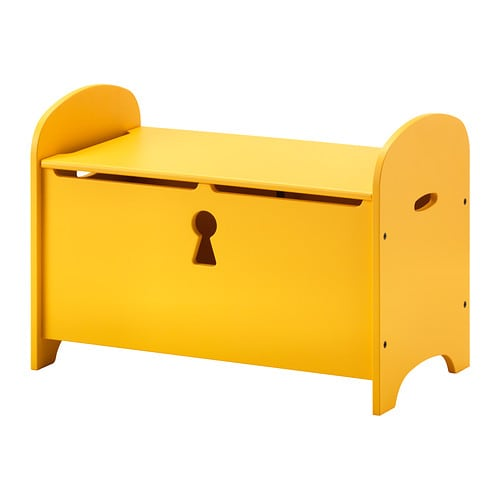 TROGEN Storage bench   Bench with seating on top and storage under the lid for toys, cushions or blankets.