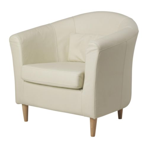 TULLSTA Armchair   Soft, hardwearing and easy care leather is practical for families with children.