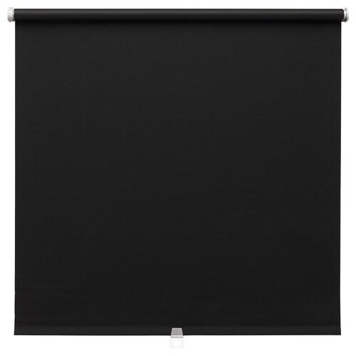 "TUPPLUR blackout roller blind black 36 ¾ "" 38 "" 76 ¾ "" 19.59 sq feet"