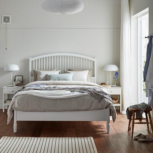 Tyssedal Bed Frame Queen Lur 246 Y Slatted Bed Base Ikea