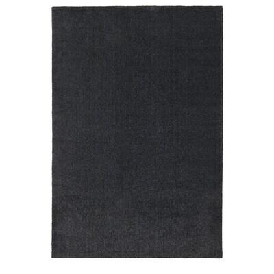 """TYVELSE Rug, low pile, dark gray, 6 ' 7 """"x9 ' 10 """""""