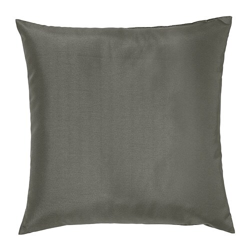 ULLKAKTUS Cushion   Soft, resilient polyester filling holds its shape and gives your body soft support.
